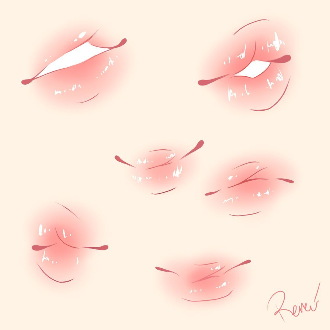 Plump Lips Cute Colouring Draw Lips Draw Lips Figure Drawing Anatomy Reference Action Poses In 2020 Lips Drawing Art Reference Photos Drawing Expressions
