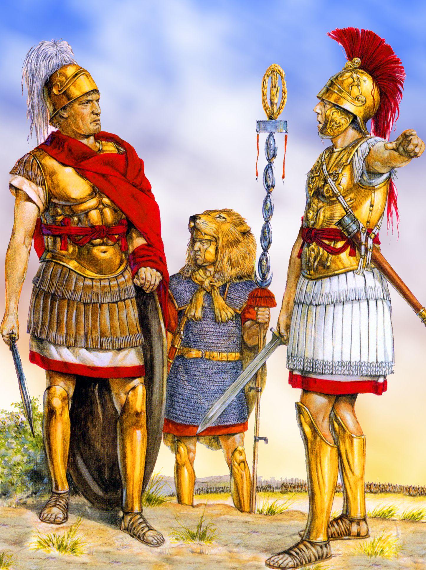 Roman Tribune Ancient Carthage Ancient War Ancient Warfare