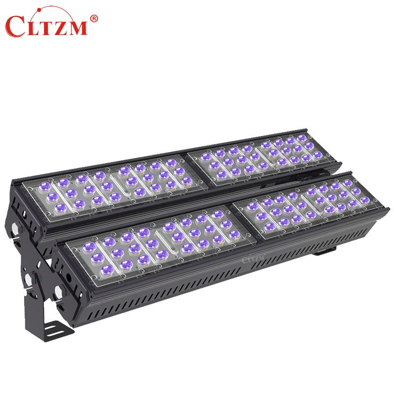 Cltzm Ac85 265v Ip65 Waterproof 200w High Power Purple Outdoor Lighting Flood Light 395nm Led Ultraviolet Lamps Ultraviolet Lamp Flood Lights Led Flood Lights