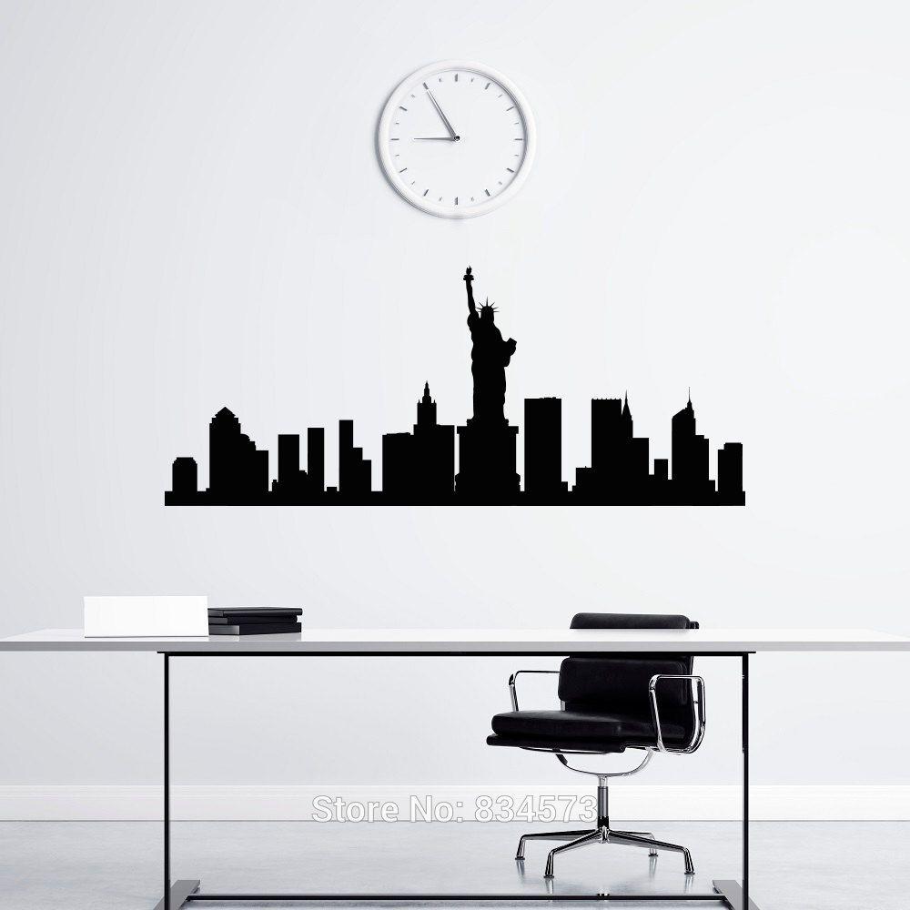 Výsledek obrázku pro silhouette new york plotr pinterest