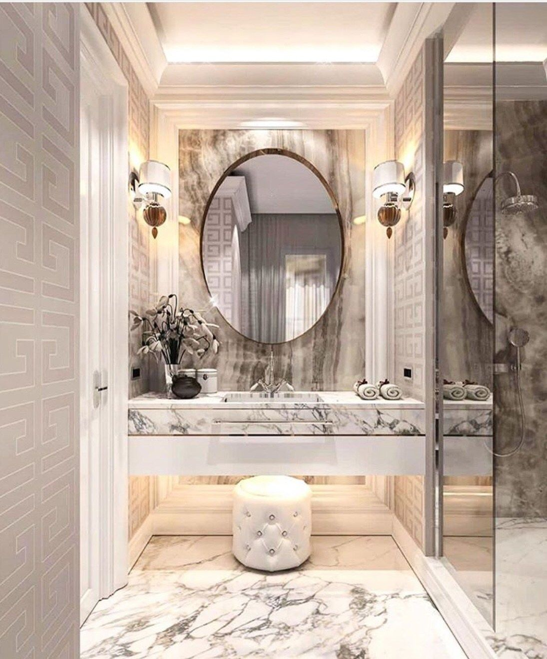 30 Luxury Bathroom Decor Ideas Luxury Bathroom Bathroom Decor