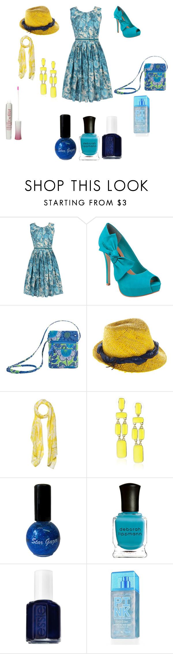 """blue is cool!!"" by raejaejae ❤ liked on Polyvore featuring Antonio Marras, Steve Madden, Vera Bradley, HTC, Crumpet, Kate Spade, Deborah Lippmann, Essie, Victoria's Secret and Bourjois"