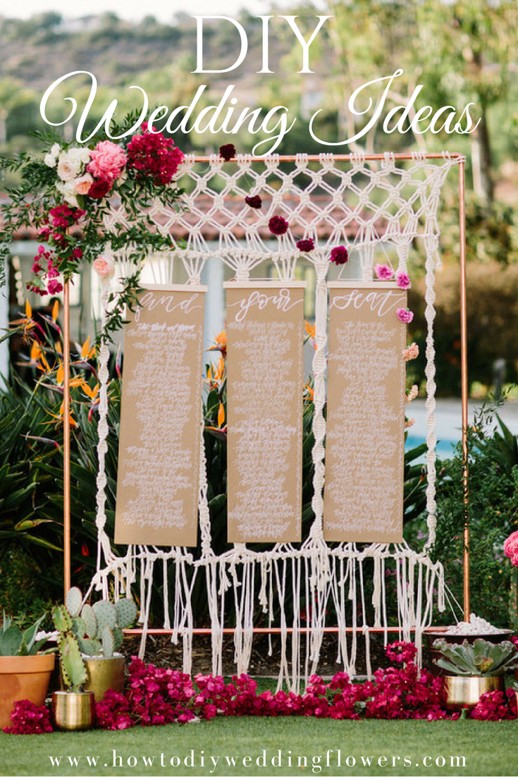 Easy DIY Wedding Decorations, Invitations, Flowers And More Www.