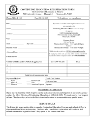 Image Result For Training Course Registration Form Template