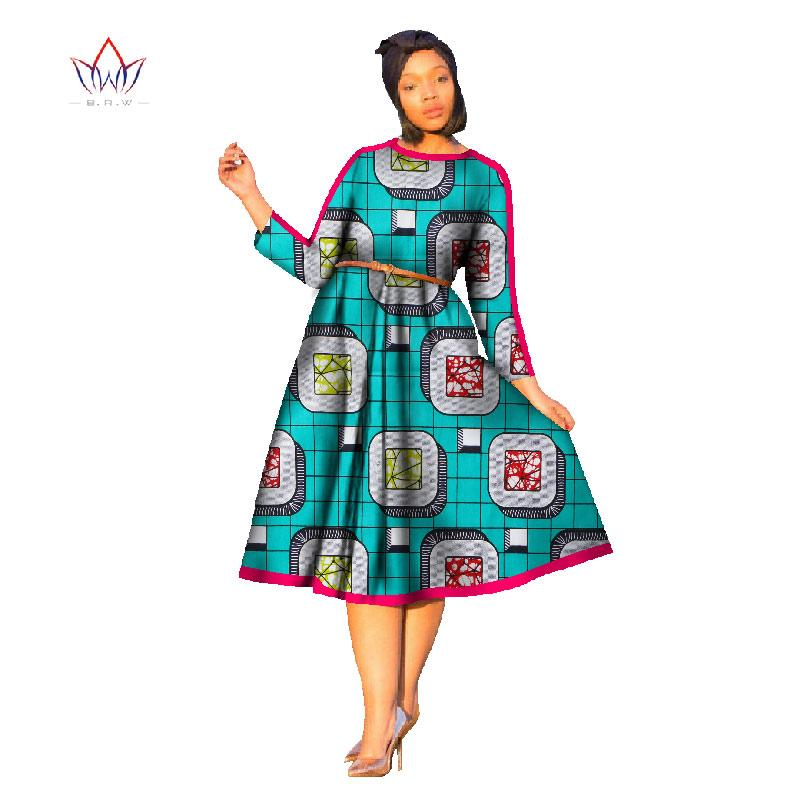 107d8e88064 2017 african dress women Dashiki bazin riche africa wax print loose style dresses  africa clothing plus size dress for girlsWY680