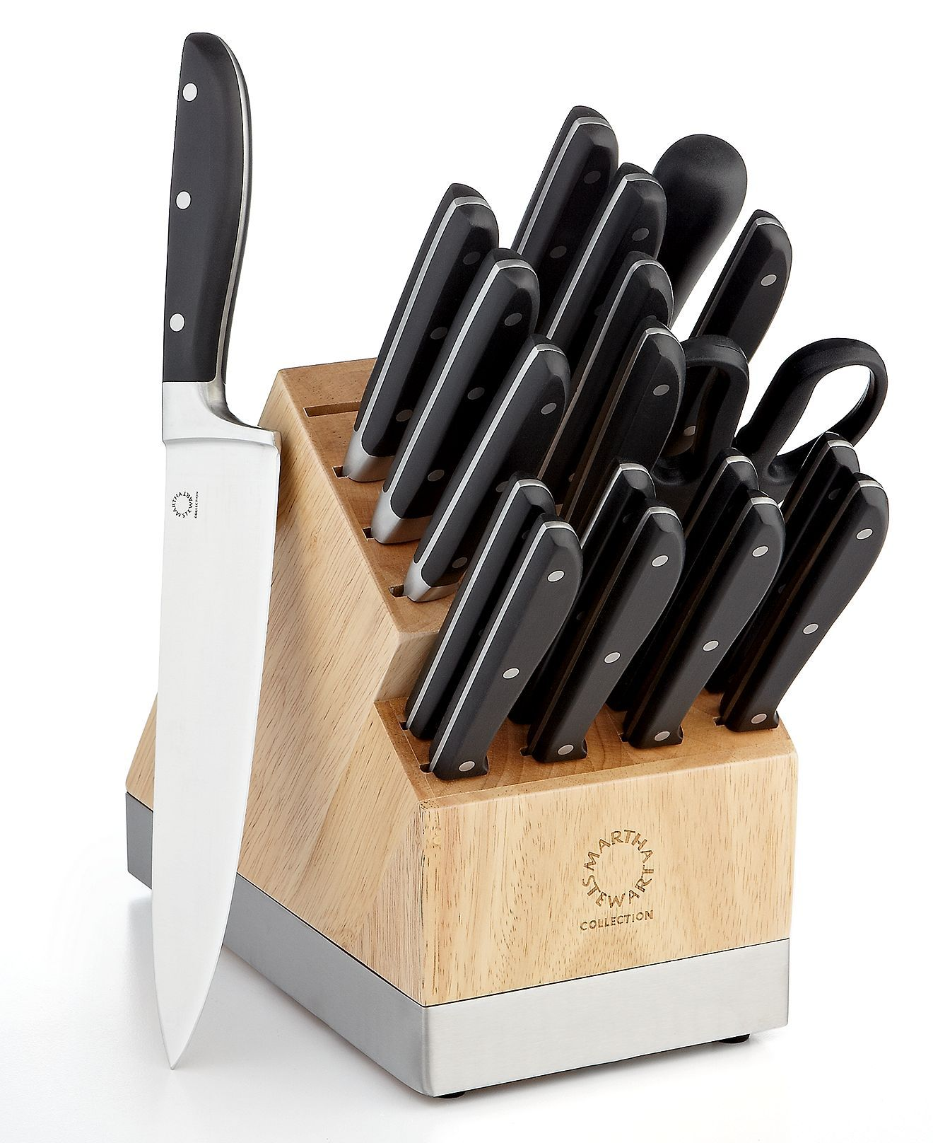 100 knives kitchen 21 piece high carbon stainless steel