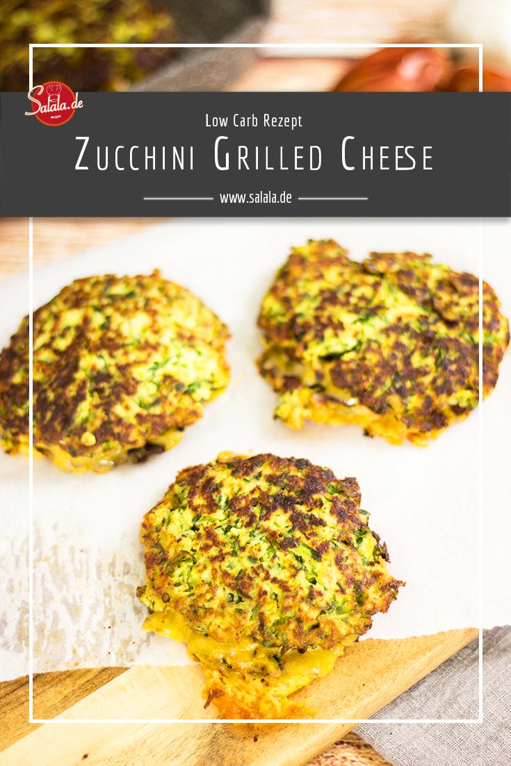 Zucchini Grilled Cheese Sandwich
