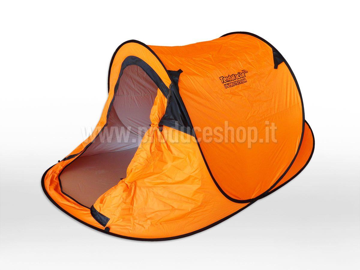 Tenda da spiaggia 2 posti mare tendafacile xl campeggio camping
