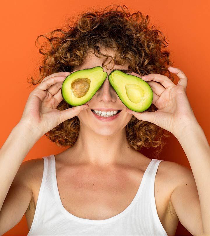 avocado hair and face mask diy