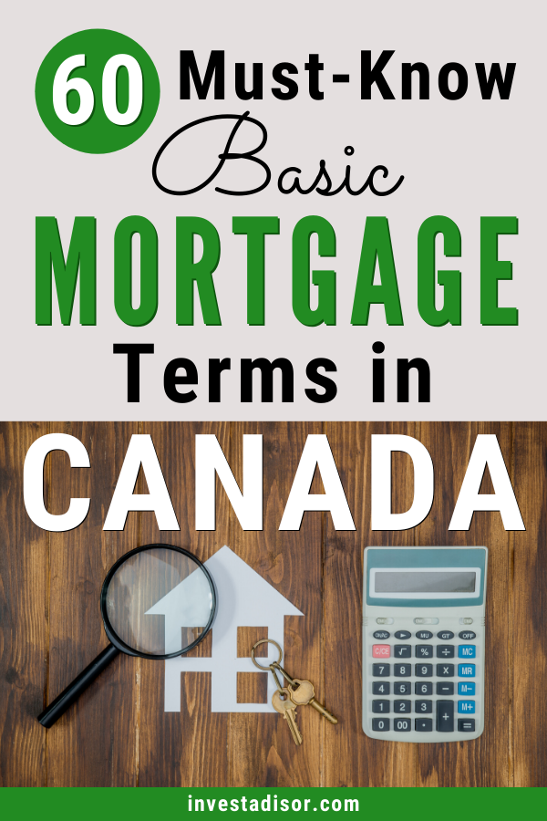 60 Essential Mortgage Dictionary of Terms in Canada