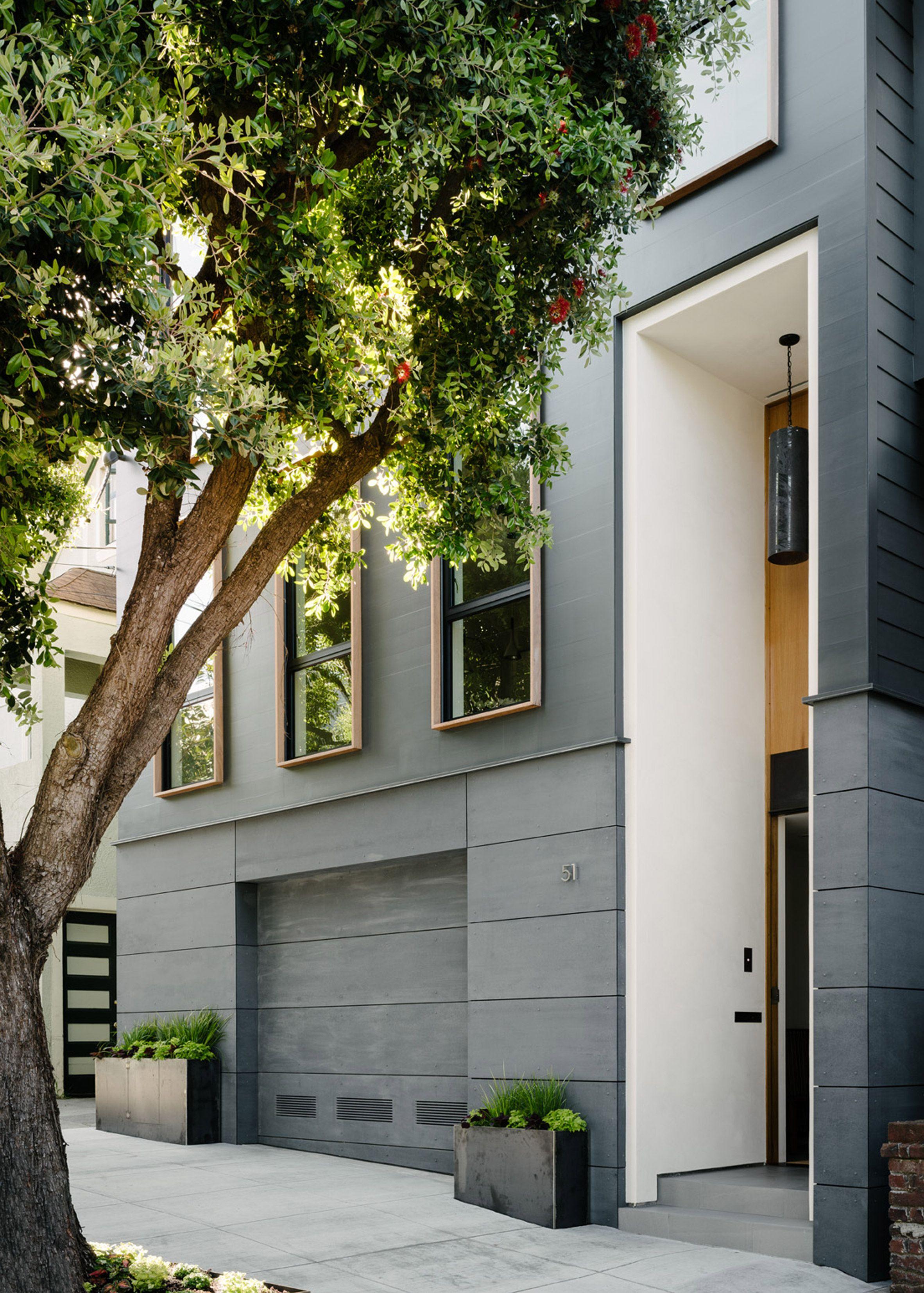 Modern Townhouse Townhouse Designs San Francisco: Architecture, San Francisco Houses, Exterior Design