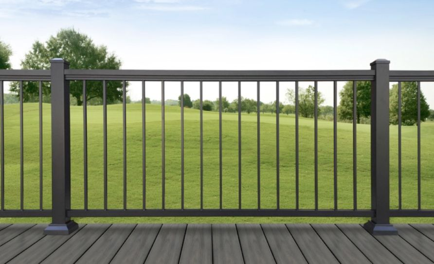 Best Optima Aluminum Deck Railing Sc Aluminum Decking Deck Railings Wrought Iron Staircase 640 x 480