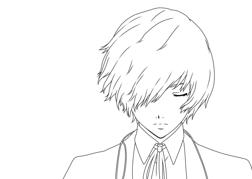 Line Art For Coloring : Line art anime google search i like