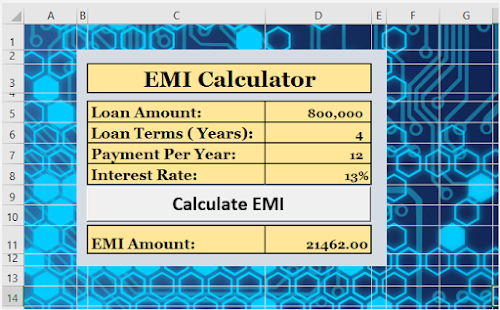 How to Create Equated Monthly Installment (EMI) Calculator