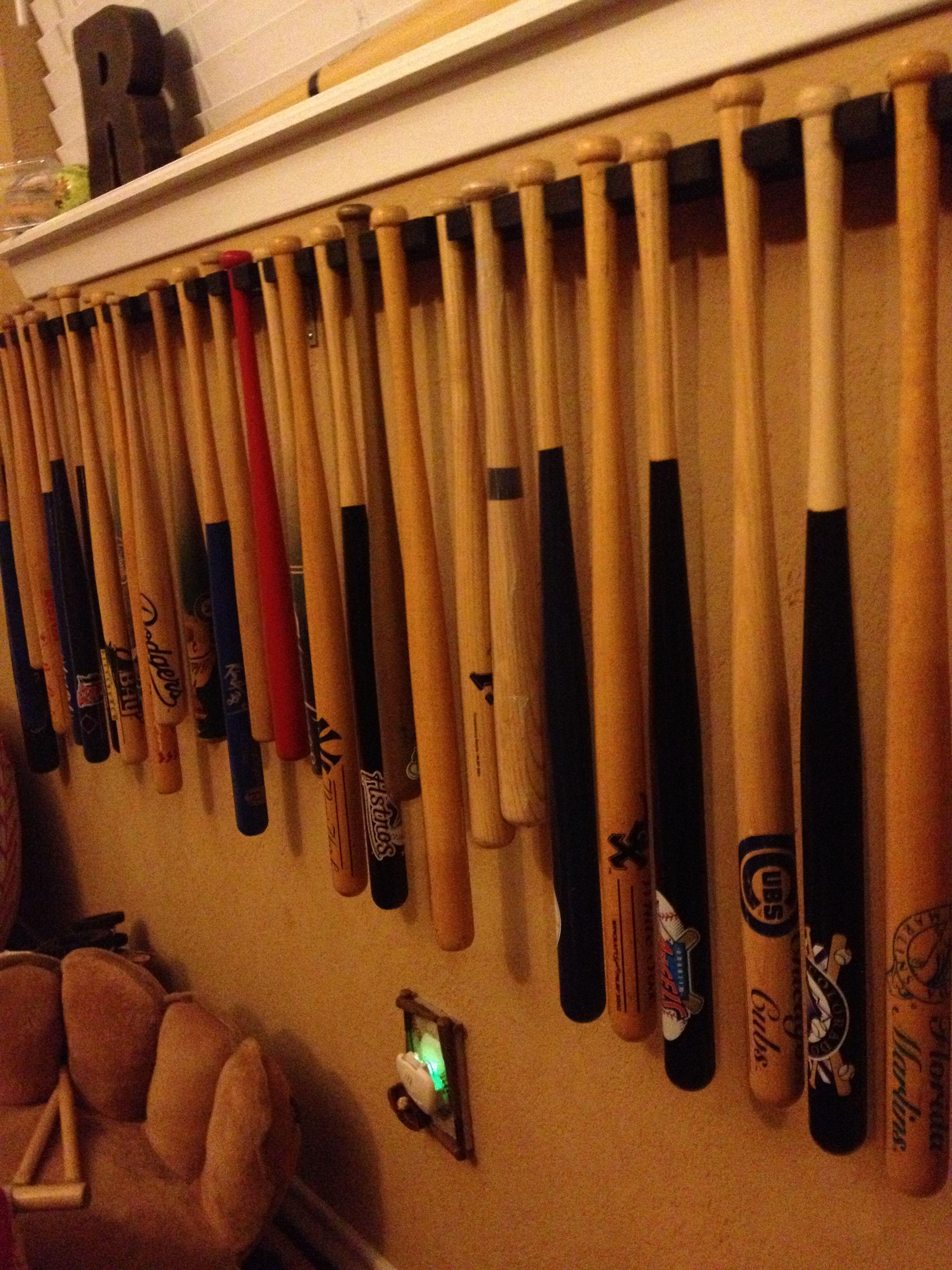 Mini Bat Rack My Baseball Boys Pinterest