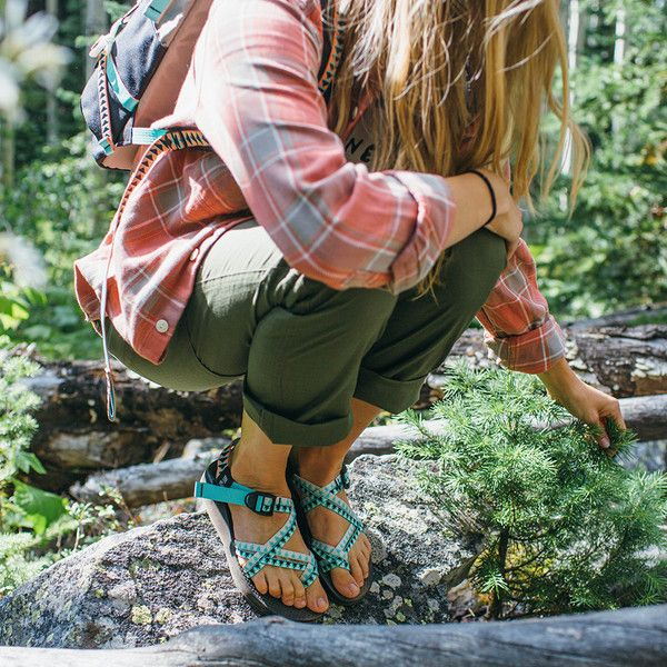 x Chaco Women's Mega Z Cloud Sandal | Camp | Hiking fashion