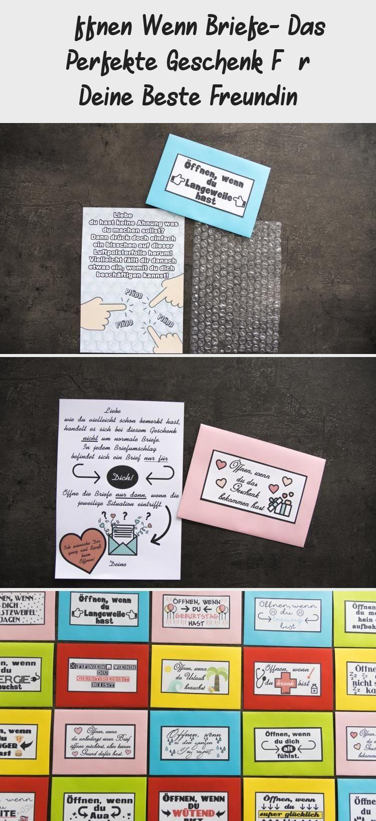 Öffnen Wenn Briefe- Das Perfekte Geschenk Für Deine Beste Freundin #kinogutscheinbasteln