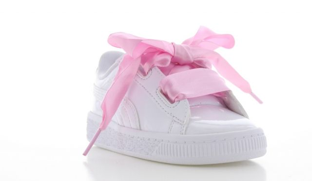 puma heart basket toddler