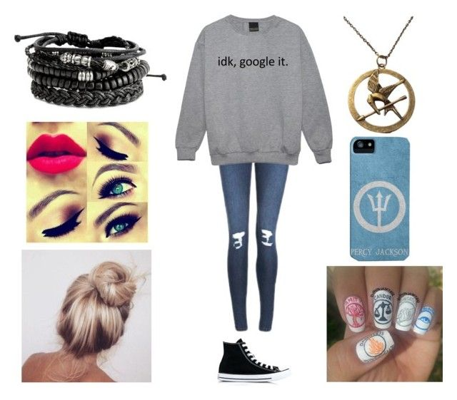 """""""Day out shopping: Fandom edition"""" by morgan-924 ❤ liked on Polyvore featuring Cheap Monday and Converse"""
