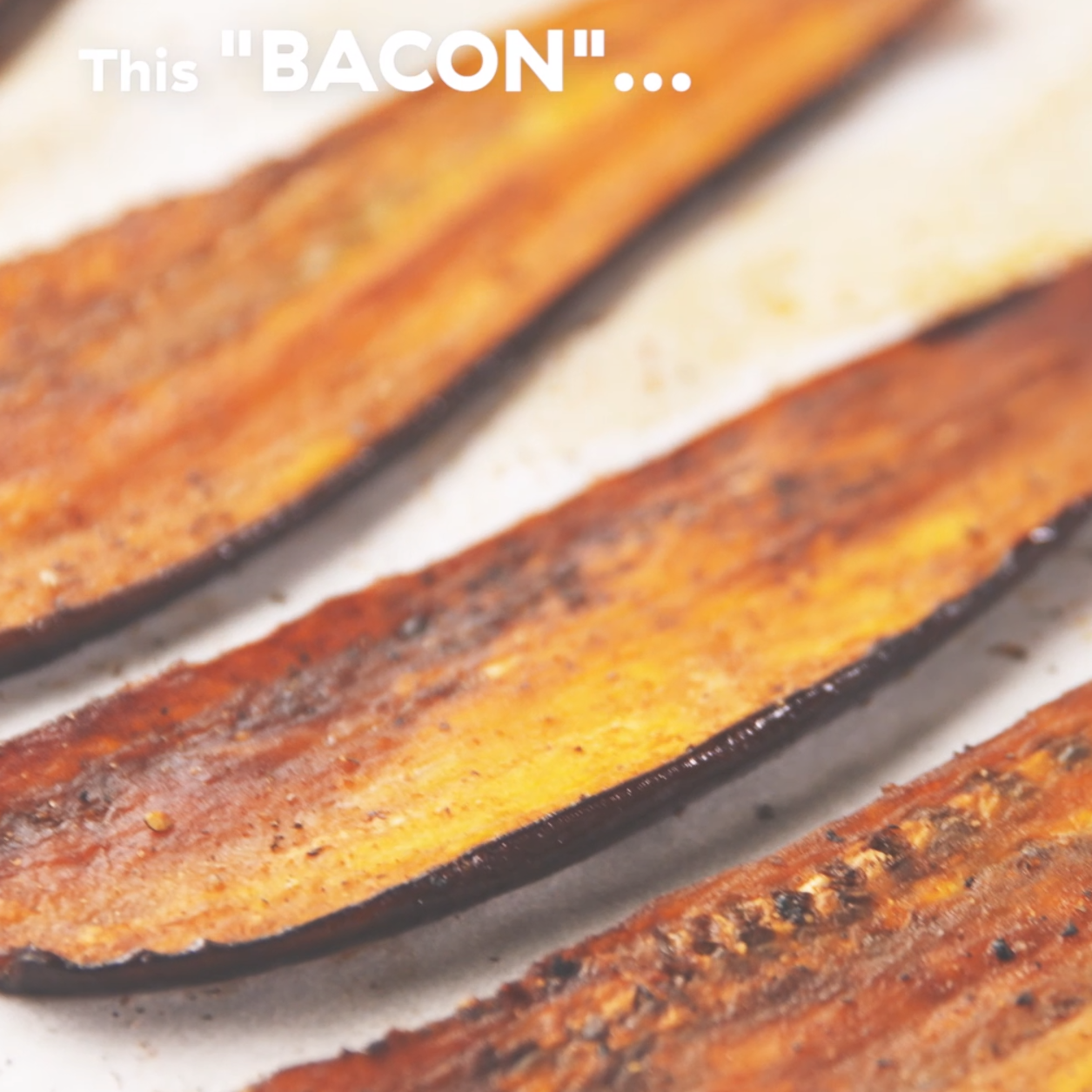 This vegetarian eggplant bacon is perfect when you need something savory for your sandwich. Get the