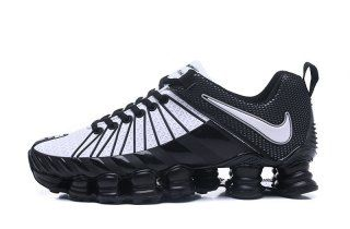 half off 47907 c2965 Nike Shox TLX KPU White Black Mens Running Shoes | Camper | Nike ...