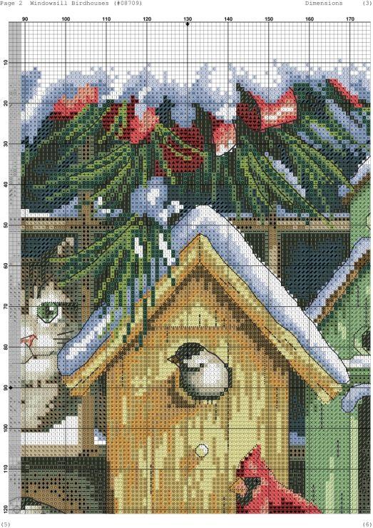 Λευκό πουλί γκαλερί