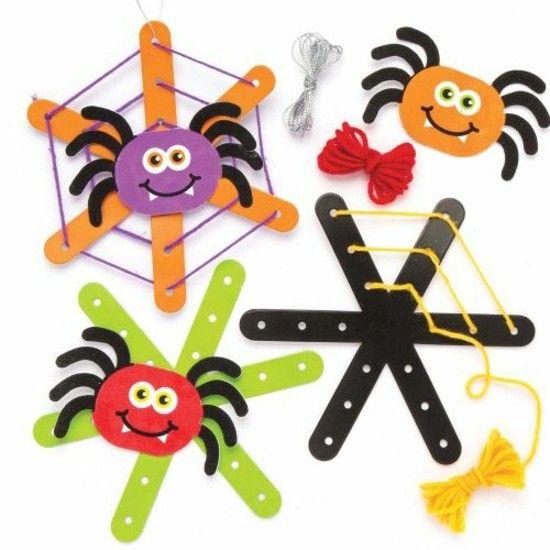 Spinne Basteln 60 Krabbelige Halloween Deko Ideen Zum Selbermachen Spinne Basteln Halloween Deko Ideen Halloween Deko Basteln Mit Kindern