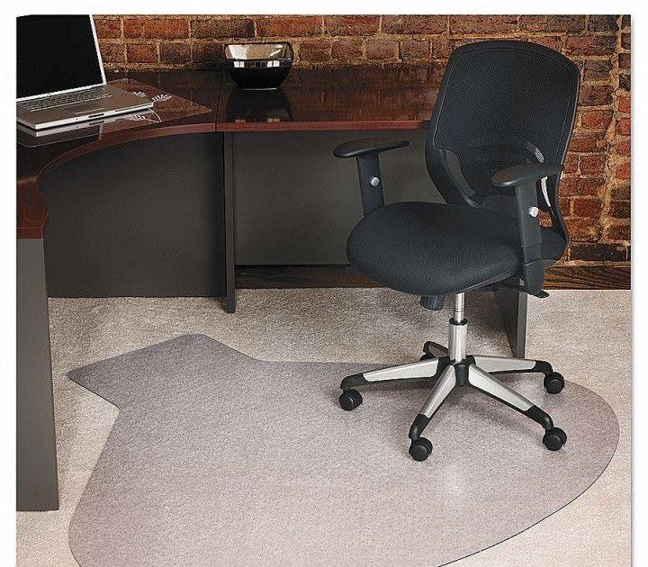 Small Desk Chair Mats for Carpet Desk Design Ideas (With