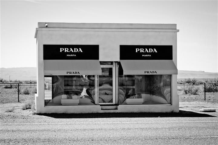sneakers for cheap 63488 e599f Pin by UGallery on Photography | Prada marfa, Online art ...