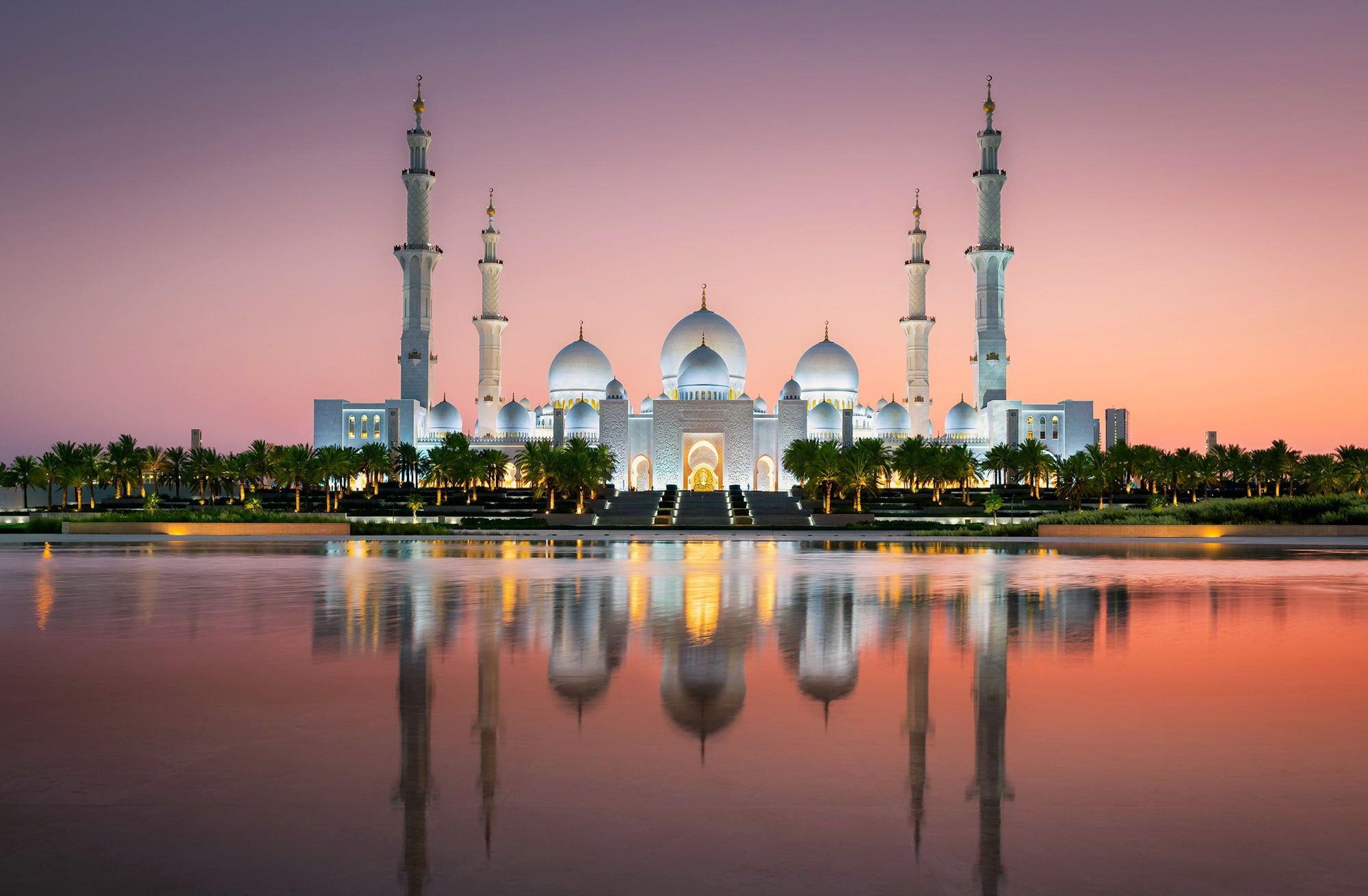 Abu Dhabi Uae Grand Mosque Sheikh Zayed 1080p Wallpaper Hdwallpaper Desktop In 2021 Grand Mosque Sheikh Zayed Grand Mosque Abu Dhabi