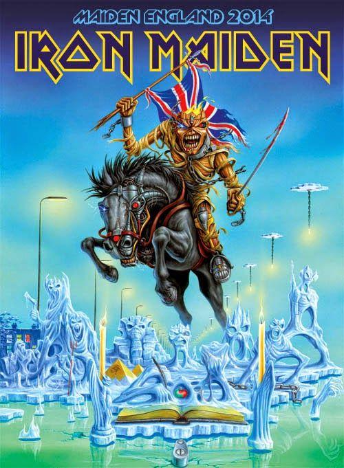Iron Maiden Koncert 2014 J U00fanius 3  M U00e1sodik R U00e9sz