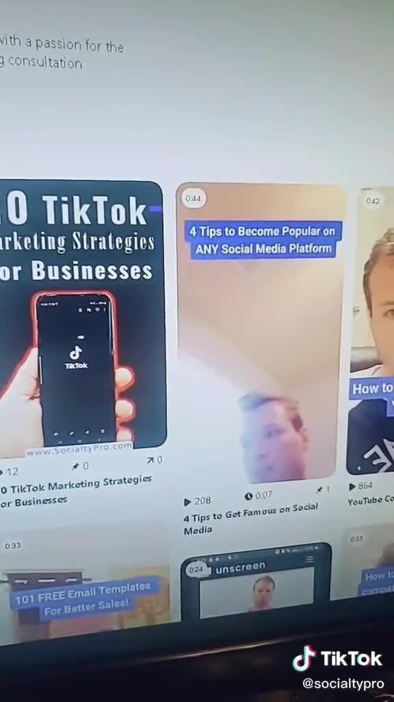 How To Get More Views On Tiktok Videos Video In 2020 Digital Marketing Digital Marketing Strategy Marketing Strategy