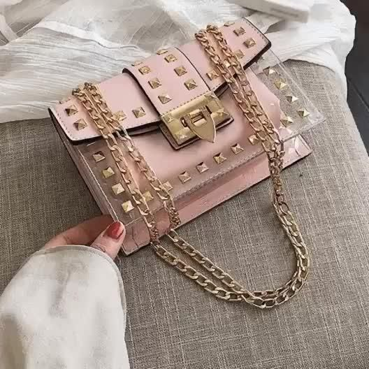Pin By Xheku Harizaj On Luxury Video Studded Handbag Purses Handbag