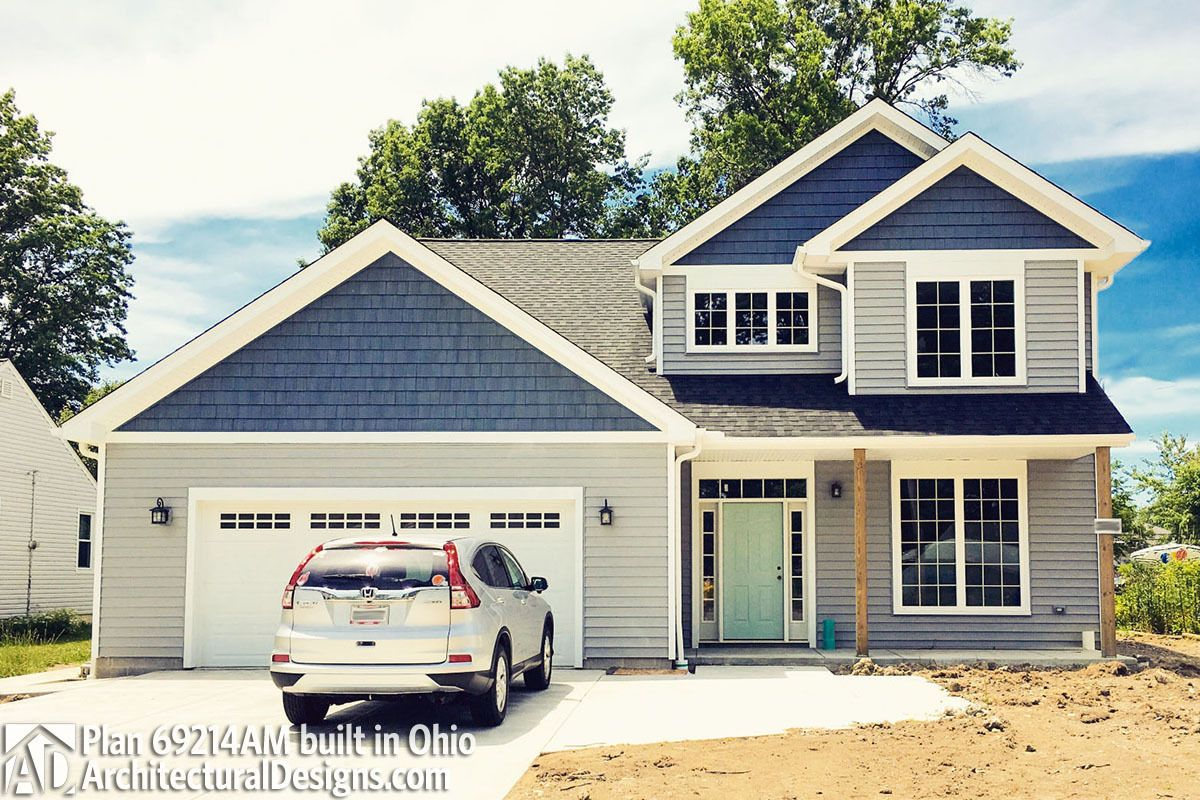Updated Arts Crafts Home Plan In 2020 House Plans Architectural Design House Plans Home Crafts