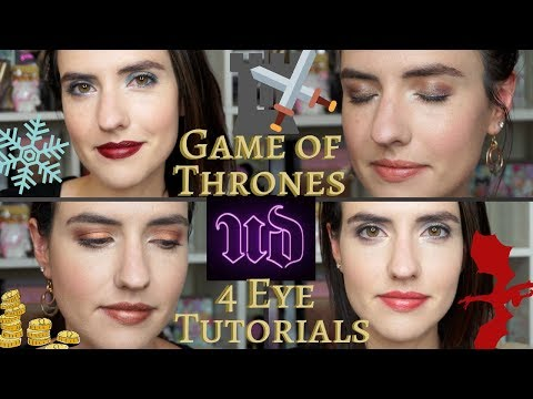Urban Decay + Game of Thrones Palette Four Eyeshadow