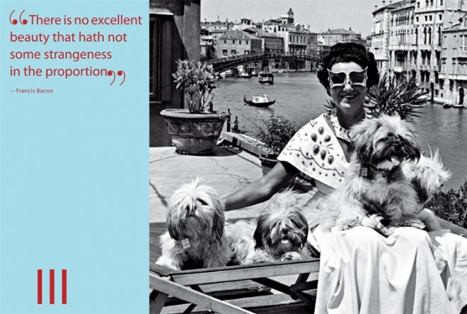 Peggy Guggenheim In Venice And An Inspirational Quote From Miles