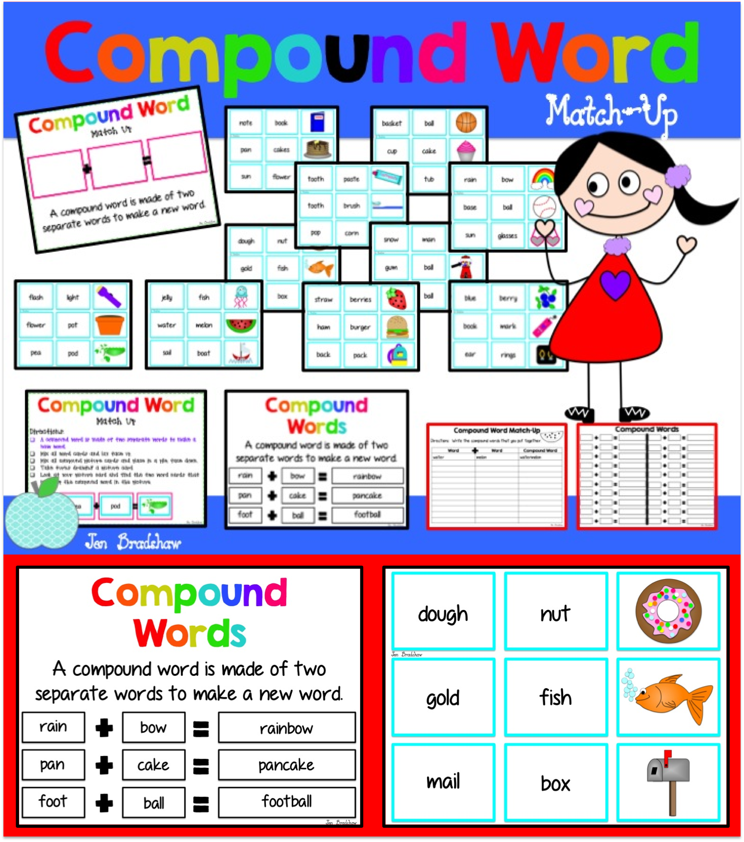 Compound Word Activity Perfect For Centers Whole Group Instruction Or Guided Reading Group