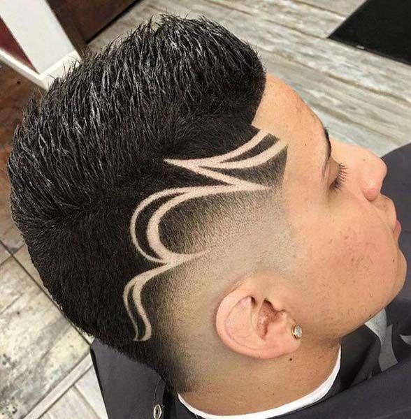 Pin En Men Hairstyle 2019