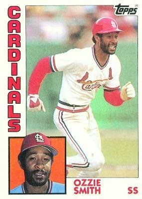 1984 Topps 130 Ozzie Smith St Louis Cardinals Baseball Cards By Topps 0 99 1984 Topps Ca St Louis Cardinals Baseball Baseball Cards St Louis Cardinals