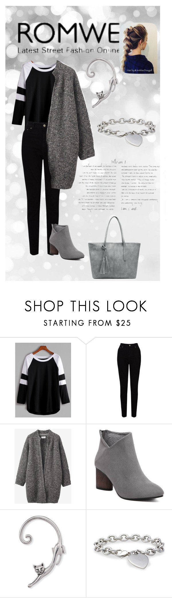 """""""CONTEST WITH PRIZE: Black And White Contrast Raglan Sleeve T-shirt"""" by tarik-azra ❤ liked on Polyvore featuring EAST, Toast and Blue Nile"""