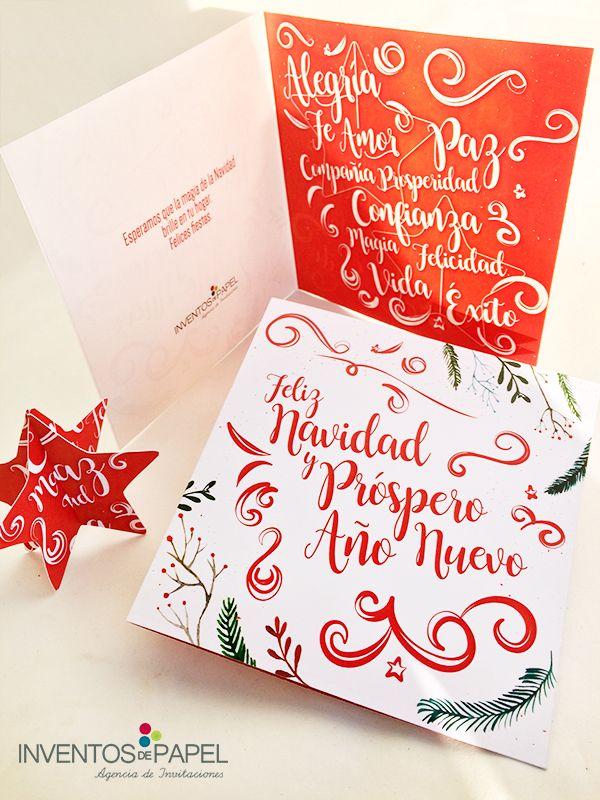 Tarjeta De Navidad Armable Tarjetas De Navidad Navidad