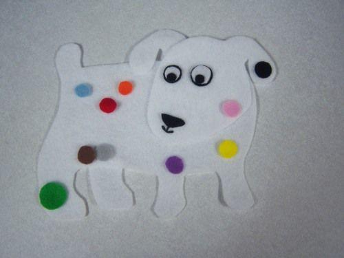 Dog S Colorful Day Flannelboard Fun Pinterest Flannel Board