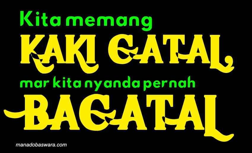 Kata Sindiran Dalam Bahasa Manado Dan Artinya Meme Teman Blog