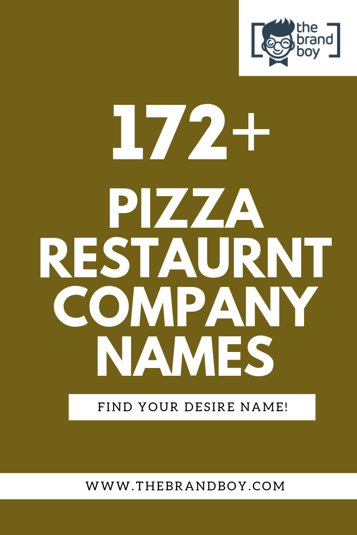 pizza restaurant names - Jasonkellyphoto co