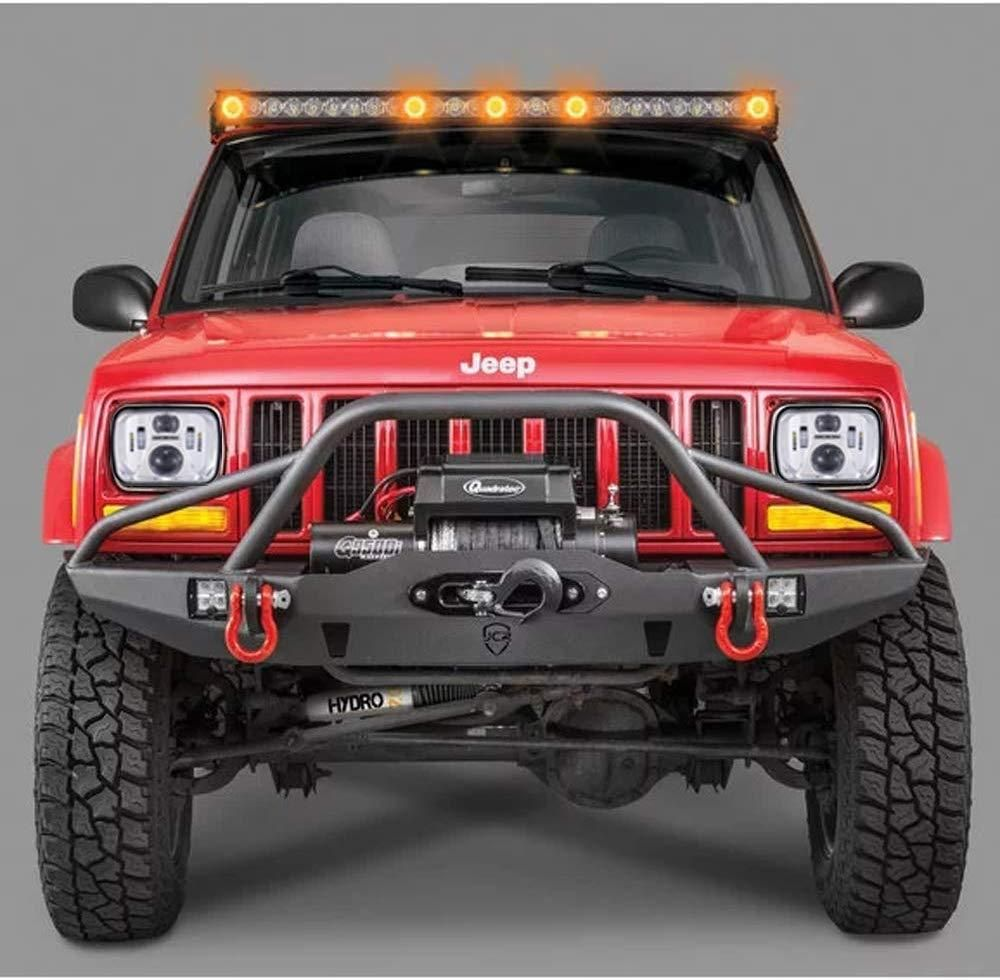 5x7 Inch Led Headlight In 2020 With Images Jeep Xj Jeep