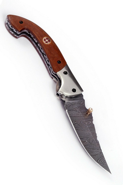 Buy Damascus Steel Knives Online At Scorpion Mart Engraved Pocket Knives Custom Pocket Knives Damascus Steel