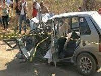 Pai, filha e professora morrem em acidente com caminhão na Paraíba