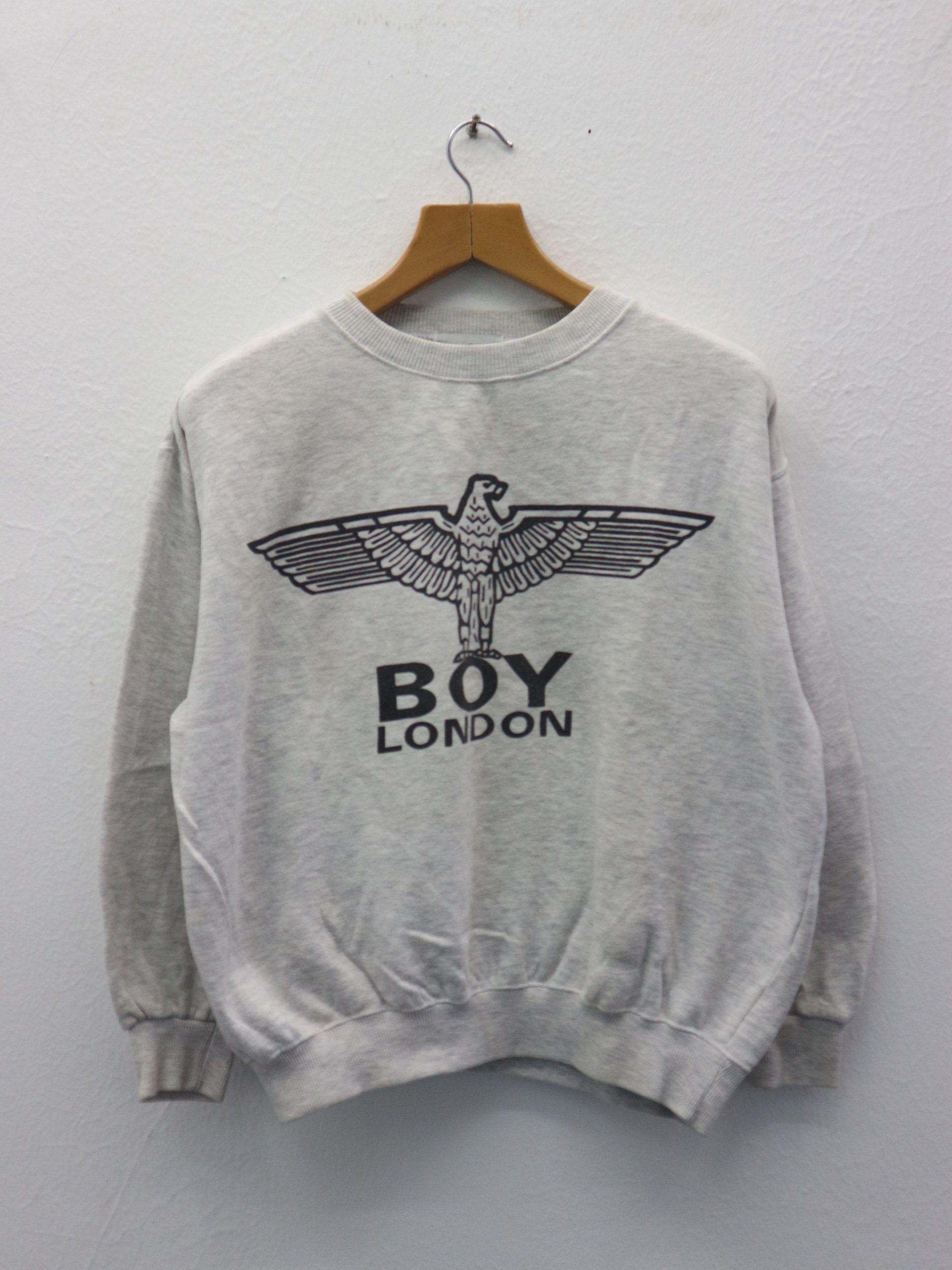 Vintage Boy London Sweatshirt Big Logo Designer Fashion Etsy Sweatshirts Sweatshirt Fashion Boy London [ 2560 x 1920 Pixel ]