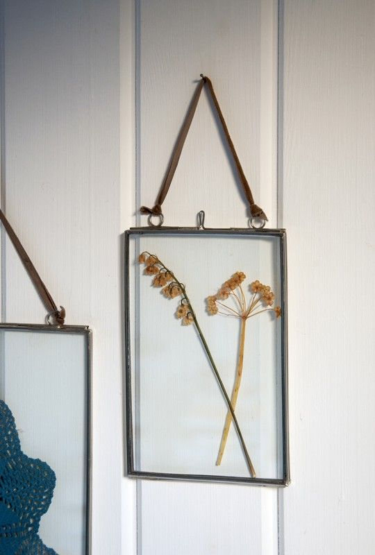 Glass Hanging Frame Large DotComGiftShop Housey Pinterest