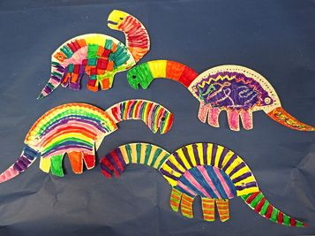 Paper Plate Dinosaurs & Paper Plate Dinosaurs   Art and Crafts for Kids   Pinterest   Craft ...